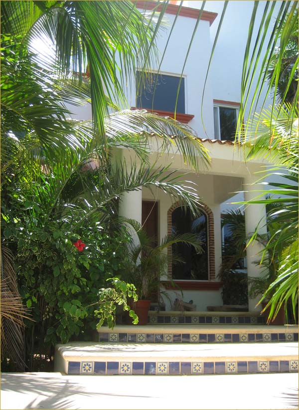 Private Villa Akumal Mexico Vacation Rentals Casa Beachfront